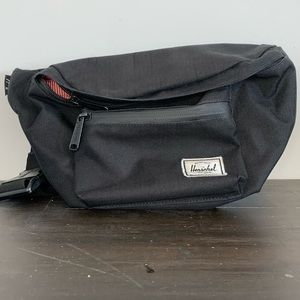 Herschel Supply Co black hip/belt bag